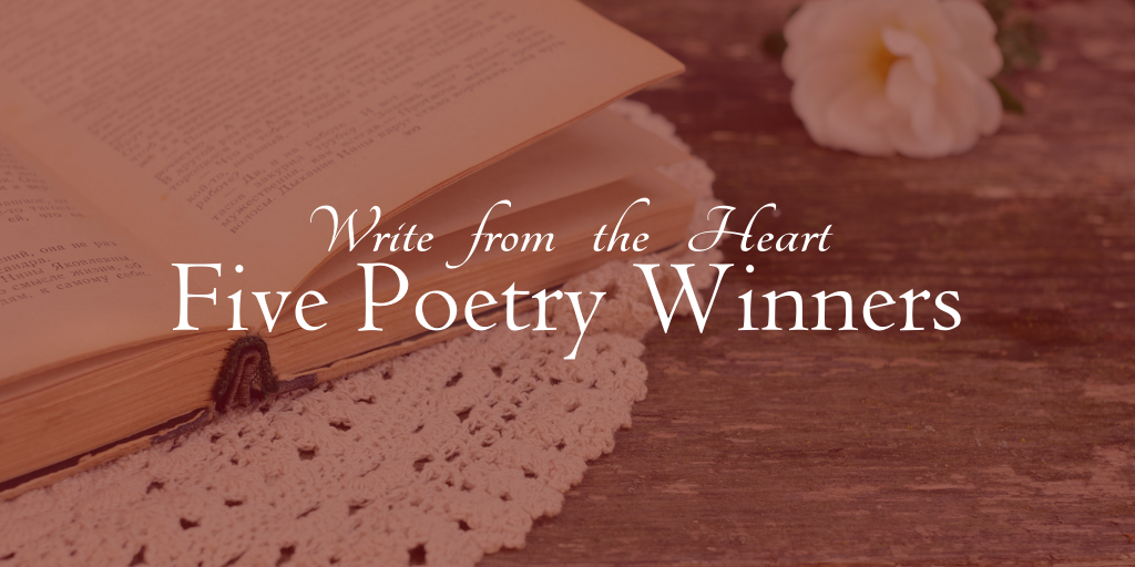Check out our five poetry winners selected for publication!